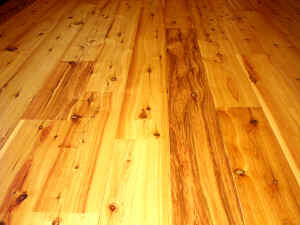 Australian Cypress Hardwood Flooring our australian cypress went from a box of wood planks to an amazing work of art Australian Cypress Hardwood Flooring