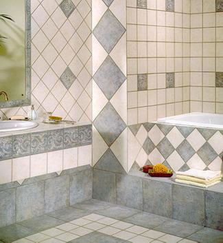 Ceramic Room Bath, Create a luxury décor easily and economically with imported Italian tile