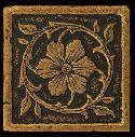 View Larger Image of Aged Bronze Jardin Floor/Wall Dot/Corner MS11