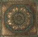 View Larger Image of Aged Bronze Rosette Pointed Deco MS11
