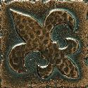 View Larger Image of Aged Bronze Fleur de Lis MS11