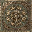 View Larger Image of Aged Bronze Rosette Rounded Deco MS11