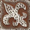 View Larger Image of Aged Iron Fleur de Lis MS10