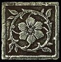 View Larger Image of Aged Iron Jardin Floor/Wall Dot/Corner MS10